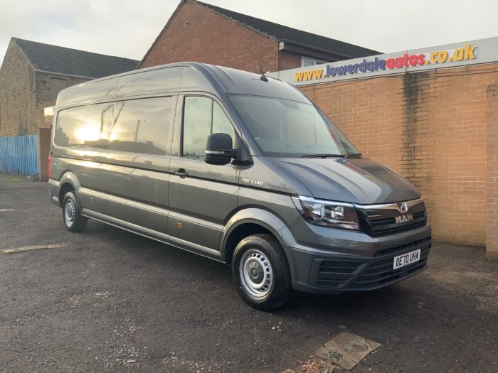 Man Tge 2.0 140 High Roof Van Box Van Diesel Indium Grey